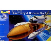 Revell 1/144 Space Shuttle Discovery & Booster - 04736 Plastic Model Kit