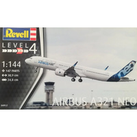 Revell 1/144 Airbus A321 Neo - 04952 Plastic Model Kit