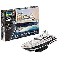 Revell 1/72 Luxury Yacht 108 FT - 05145 Plastic Model Kit