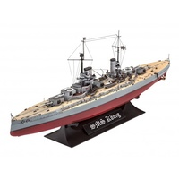 Revell 1/700 WWI Battleship SMS Koenig - 05157 Plastic Model Kit