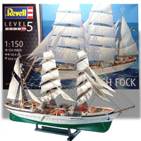 Revell 1/150 Gorch Fock - 05417 Plastic Model Kit