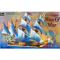 Revell 1/96 English Man O'War - 05429 Plastic Model Kit