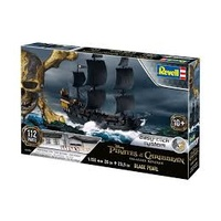 Revell 1/150 Black Pearl Salazars Revenge - Easy Click - 05499 Plastic Model Kit