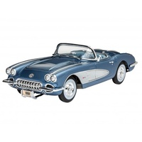 Revell 1/25 Corvette Roadster 1958 - 07037 Plastic Model Kit