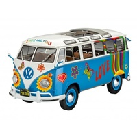 Revell 1/24 VWT1 Samba Bus Flower Power - 07050 Plastic Model Kit