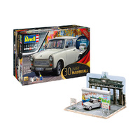 "Revell 1/24 Trabant 601S ""Fall of the Berlin Wall 30th Anniversary"" Gift Set 07619 Plastic Model Kit"