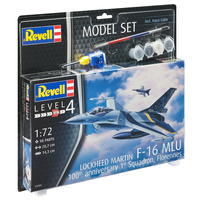 Revell 1/72 Model Set F-16 MLU (Belgium) 70th Anniversary - 63905 Plastic Model Kit