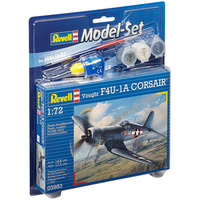 Revell 1/72 Model Set Vought F4U-1D Corsair - 63983 Plastic Model Kit