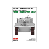 Ryefield 5027 1/35 Workable track links for Tiger I transport Plastic Model Kit