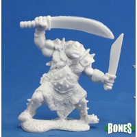 Reaper Miniatures - Orc Stalker (Two weapons)