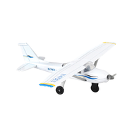 Daron Runway24 - C172 Blue/White Cessna Diecast Aircraft