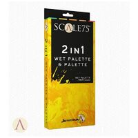 Scale 75 Accessories 2 in 1 Wet Palette and Palette