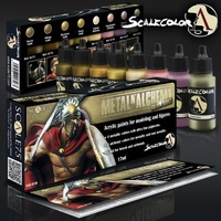 Scale 75 Scalecolor Metal n' Alchemy Steel Paint Set