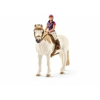 Schleich - Recreational Rider With Horse 42359
