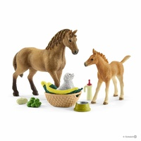 Schleich - Horse Club Sarah's baby animal care 42432