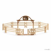 Schleich - Paddock with entry gate 42434