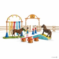 Schleich - Pony agility training 42481