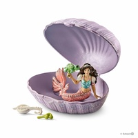 Schleich - Mermaid with baby turtle in shell 70562