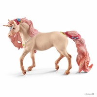 Schleich - Decorated unicorn, mare 70573