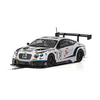 Scalextric Bentley Continental GT3 - Team Parker Racing - Brands Hatch 2018