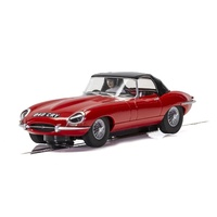 Scalextric Jaguar E-Type - Red 848Cry