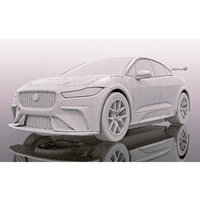 Scalextric Jaguar I-Pace Red - New Tooling 2019
