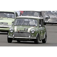 Scalextric Austin Mini Cooper S - Goodwood 2018 - Johnny Adam, Nick Swift