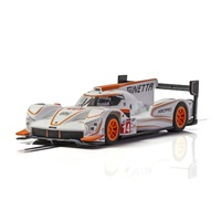 Scalextric Ginetta G60-Lt-P1 No 14 - White & Orange - New Tooling 2019