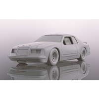 Scalextric Ford thunderbird - White - New Tooling 2019