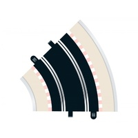 Scalextric Radius 2 Curve 45 Degrees x2