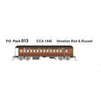SDS HO Austrains Neo Pack 013 CCA 1446 Venetian Red & Russet Single Car