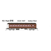 SDS HO Austrains Neo Pack 016 CCA1447 Indian Red Single Car