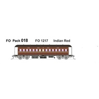 SDS HO Austrains Neo Pack 018 FO1217 Indian Red Single Car