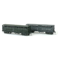 SDS HO 1959 NSCF Cattle Wagon Pack D (3PK) Weathered