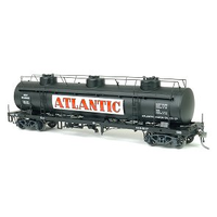 SDS HO 1970s Tulloch Rail Tank Car Pack C