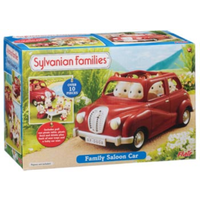 Sylvanian Families Family Saloon Car - Red SF4611
