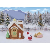 Sylvanian Families - Gingerbread Playhouse Christmas set