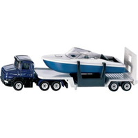 Siku 1/87 Low Loader with Boat SI1613