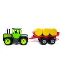 Siku MB-Trac With Bale Trailer SI1670