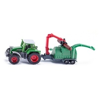 Siku Tractor With Wood Chips SI1675