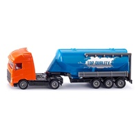 Siku 1/87 Truck with Silo Trailer