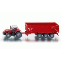 Siku 1/87 Tractor with Trailer SI1844