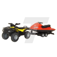 Siku 1/50 Quad with Jet Ski SI2314