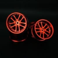 Sppedline Standard Size 26mm 10 Spoke Offset 6 Chrome Red SL186R8