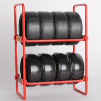 NZO Tyre Rack Red SLN010R1