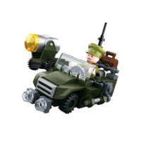 Sluban WWII Allied off-road vehicle 102pcs