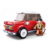 Sluban Model Bricks Red Car 153pcs