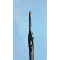 Scale Modellers Supply Sable Brush Size 4 BRSH08