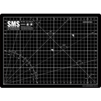 Scale Modellers Supply Premium Cutting Mat A4 Black CMAT01