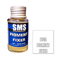 Scale Modellers Supply Pigment Fixer 30ml PF01 Laquer Paint